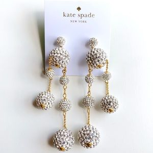 Kate Razzle Dazzle Asymmetrical Earrings
